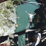 New Zealand 2000 - Bungy Jump 1